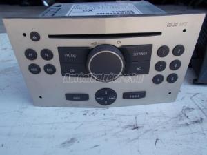 OPEL ASTRA H GM 453116246 CD30 MP3 rádió, fejegység, ZAFI... / cd rádió