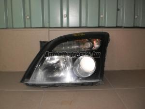 OPEL VECTRA C / bal első fényszóró, fekete házas