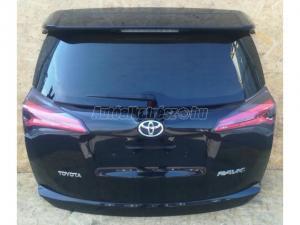 TOYOTA RAV 4 RAV 4 Lift / Toyota RAV 4 Lift csomagtér ajtó fekete