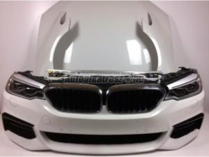 BMW 5-ÖS SOROZAT / BMW 5 G30 Komplett eleje Fehér Adaptív Led