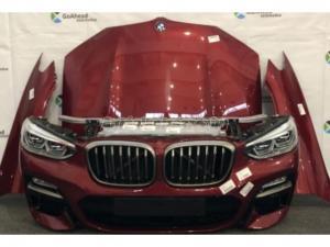 BMW X3 / BMW X3 G01 Komplett eleje Piros Led