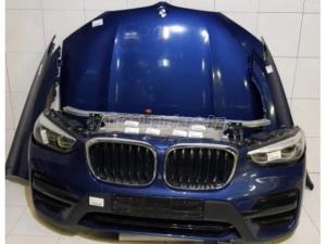 BMW X3 / BMW X3 G01 Komplett eleje Sötétkék Xenon