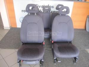 MERCEDES-BENZ A 170 ülés garnitúra sötétszürke / ülés garnitúra első hátsó sötétszürke