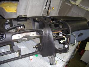 PEUGEOT 206Dupla légzsák, indító, övfeszító (Autó - Biztonsági alkatrész - Légzsákok)