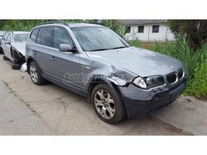 BMW X3 3.0d 6 sebességes aut. / automata váltó