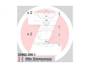 OPEL VECTRA C OPEL VECTRA C 2.2 16V, OPEL VECTRA C 2.2 DT... / Fékbetét