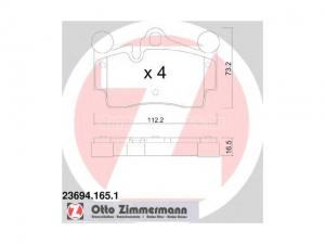 AUDI Q7 AUDI Q7 (4L) 3.0 TDI, AUDI Q7 (4L) 3.0 TDI, AUDI... / Fékbetét