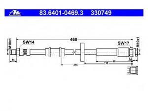 PEUGEOT BOXER PEUGE BOXER Busz (230P) 2.0 i, PEUGE BOXER... / Gumifékcső