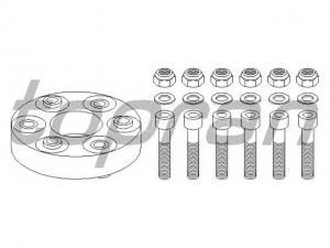 MERCEDES-BENZ 190 MERCE 190 (W201) E 1.8 (201.018), MERCE...Hardy tárcsa, kardántengely (Autó - Kardántengely - Csuklók, hardytárcsák)